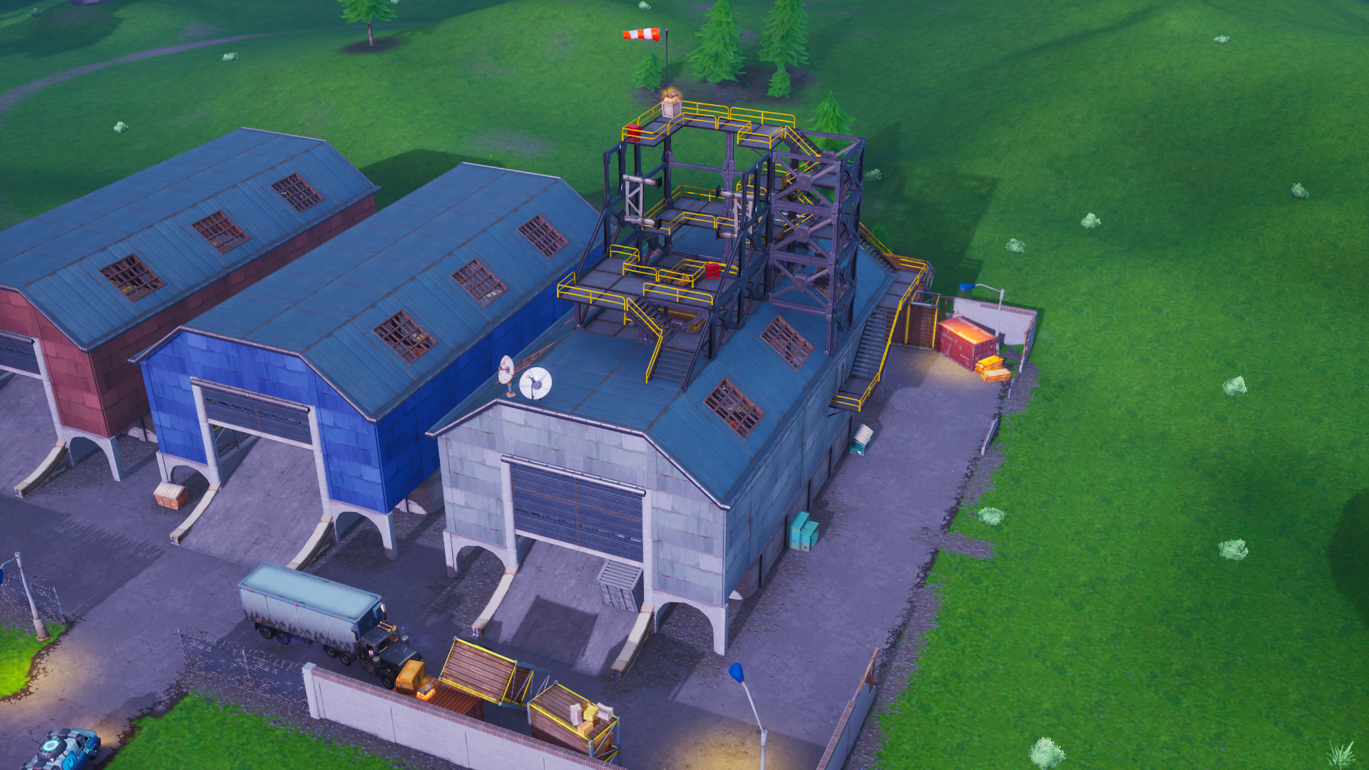 Fortnite Visitors Rocket May Take Players To A New Map
