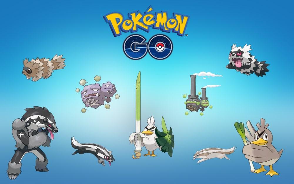 Resultado de imagem para pokemon galar forms