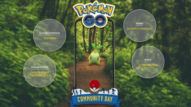 Photo of Pokemon Go September Community Day Featuring Turtwig