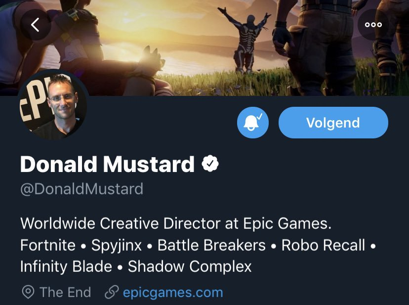 Donald Mustard The End