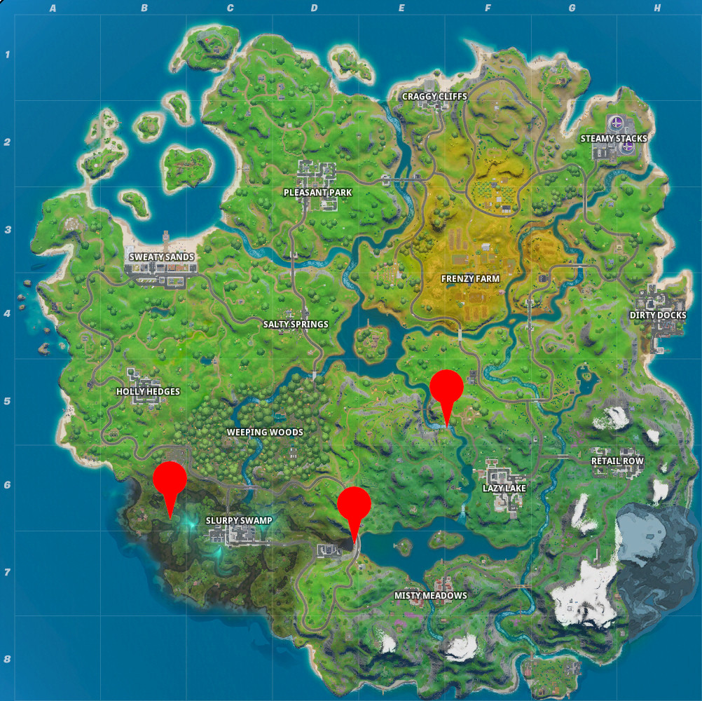 Where to Jump Flaming Rings