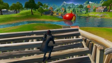 Photo of The Hilarious Fortnite Bug That Turns Players Into Gigantic Flopper Fish Is Still In The Game