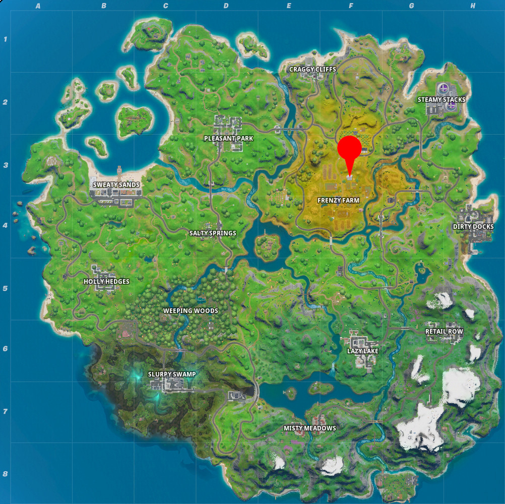 "Where To Find The Hidden ""I"" in Fortnite - Hide and Seek ..."