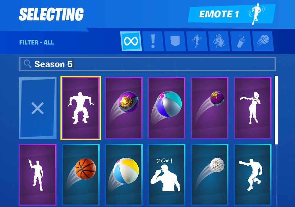 Fortnite Search Bar 11.20