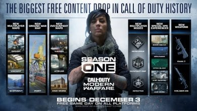 Photo of Modern Warfare's Season 1 Starts Tomorrow