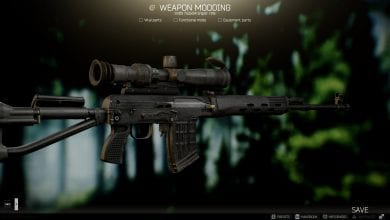 Photo of Escape From Tarkov's SVD Will Receive More Attachments Alongside a Suppressor