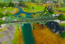 Photo of Fortnite, Where to Dance at the Green, the Yellow, and the Red Steel Bridge