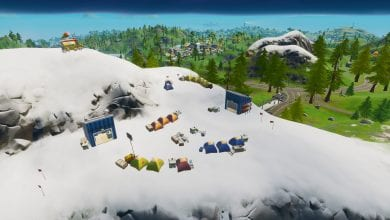 Photo of Fortnite: Visit Mountain Base Camps – 8 Ball vs Scratch Mission