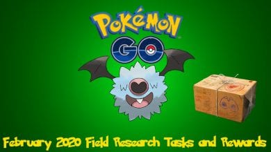 Photo of Pokemon Go February 2020 Field Research Guide