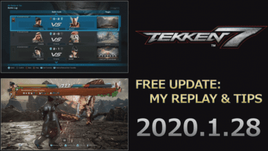 Photo of Tekken 7 'My Replay & Tips' Feature Free Update