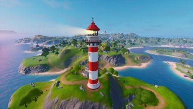 Photo of Fortnite: Land at Lockie's Lighthouse, Apres Ski and Mount Kay – C2 S2