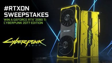 Photo of Cyberpunk 2077 Edition RTX 2080 Ti GPU is on Nvidia's Giveaway List