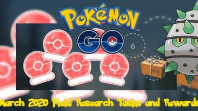 Photo of Pokemon Go March Field Research Tasks and Rewards
