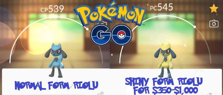 Pokemon Go Players Would Pay 350 Up To 1 000 To Hatch Shiny Riolu