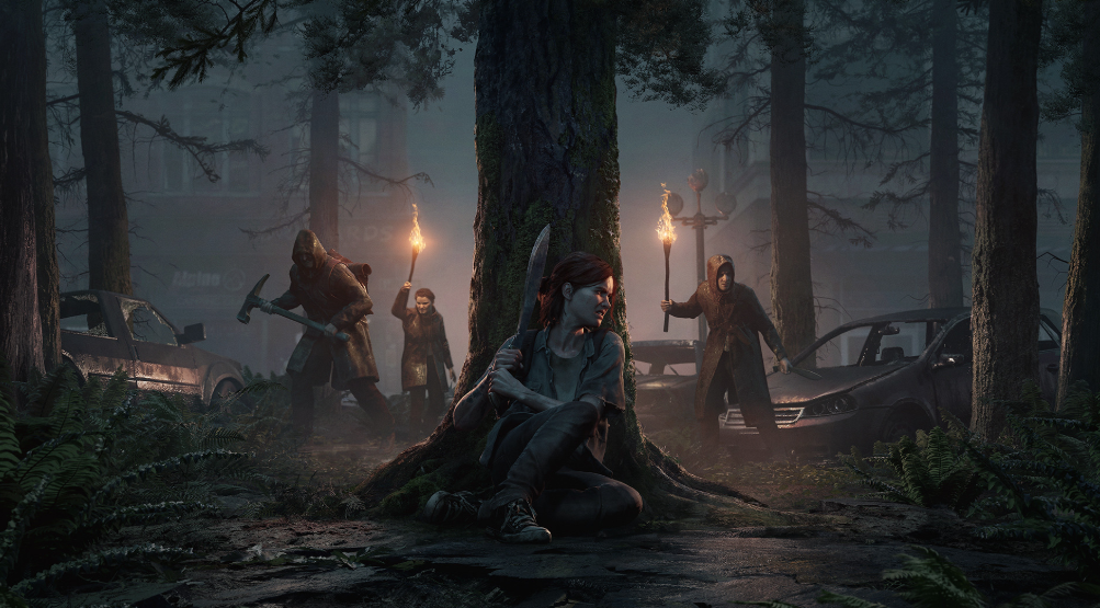 The Last Of Us Part Ii New Free Set Of Concept Art Prints And Free Ps4 Dynamic Theme Now Available
