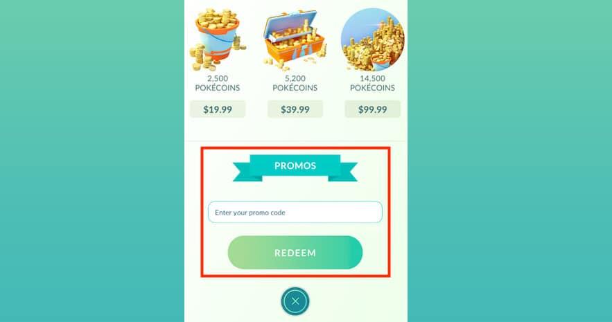 Pokemon Go Promo Codes 2020