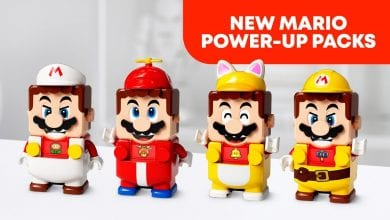 Photo of Nintendo Partners With LEGO To Bring LEGO Super Mario Power-Up Packs