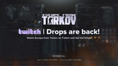 Photo of Escape From Tarkov Will Host Another Twitch Drops Event Starting On June 11