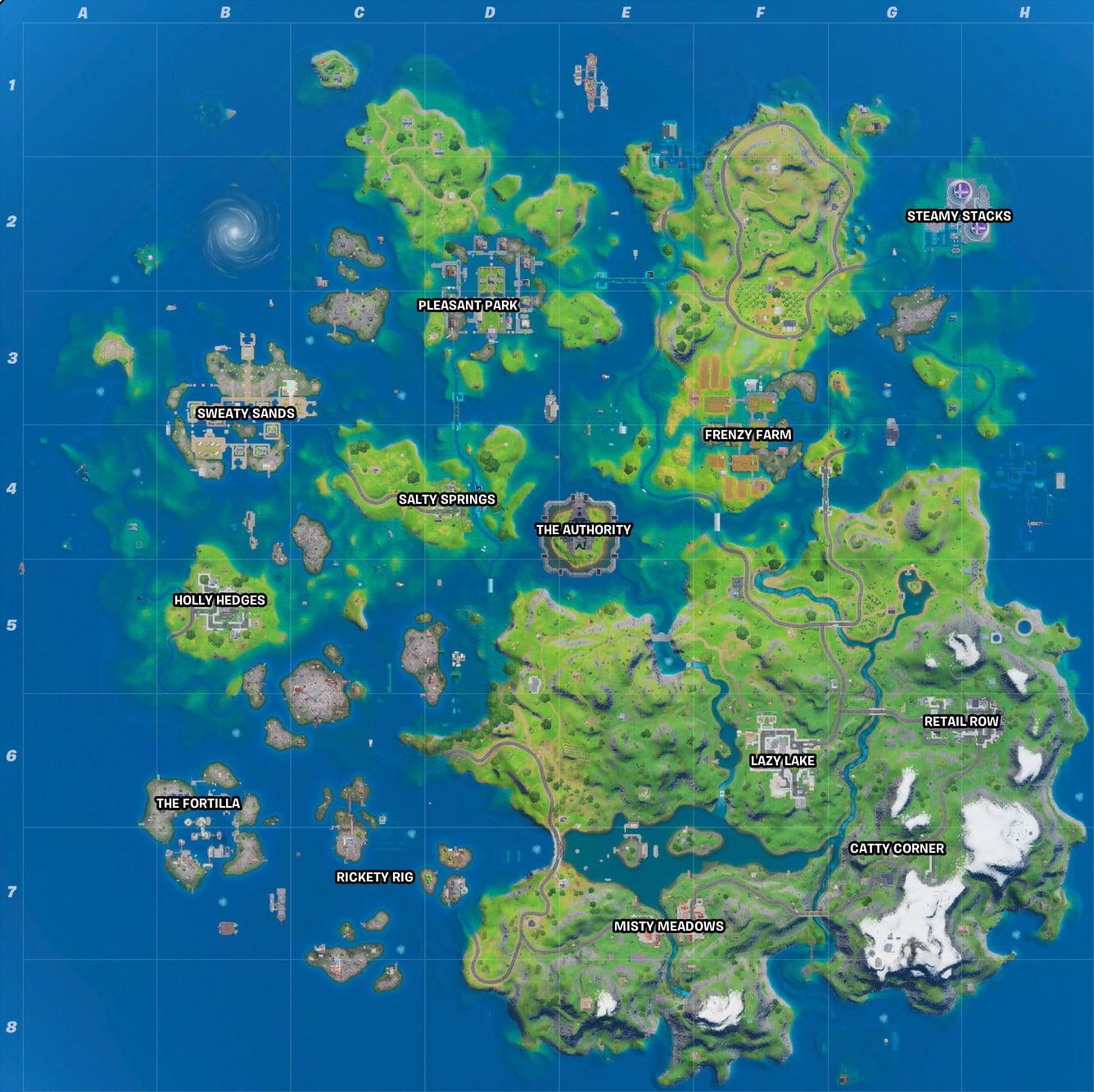 Fortnite Chapter 2 Season 2 Vs Season 3 Map Comparison Fortnite map change concept   fortnite insider. fortnite chapter 2 season 2 vs season
