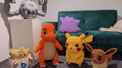 Photo of Pokemon Fan Spends $1,650 to Build Life-Sized Pokemon out of LEGO