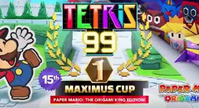 Photo of Tetris 99's Paper Mario: The Origami King Event Announced