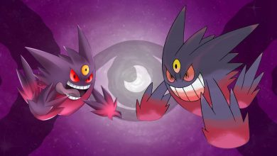 Photo of Pokemon Go Mega Gengar During Halloween Event 2020