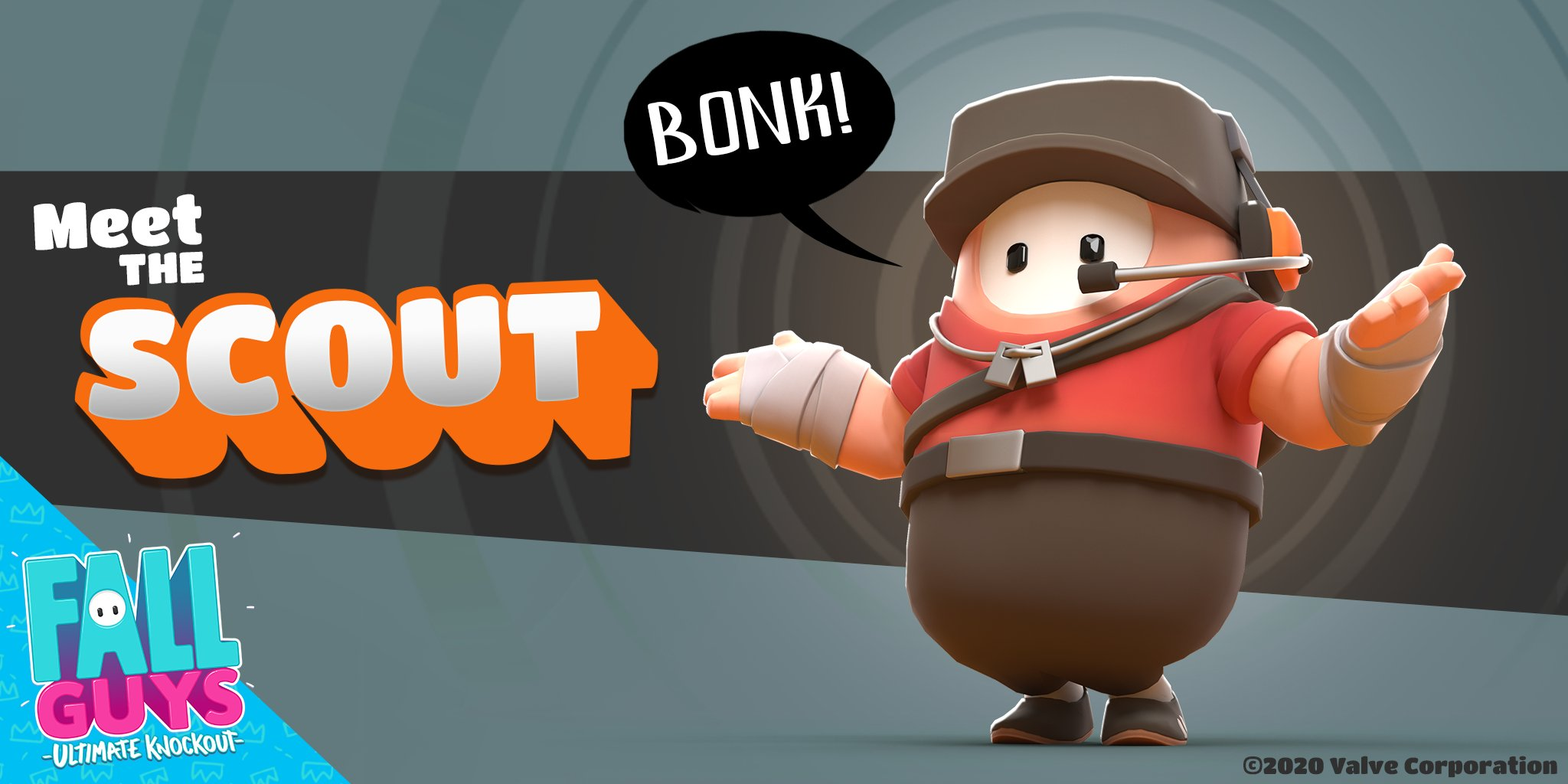 Fall Guys: How to Get Team Fortress 2 Scout Skin