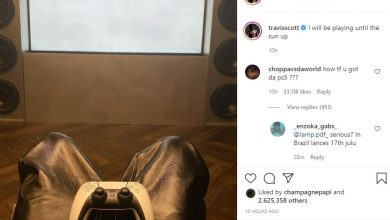 Photo of US Rapper Travis Scott is a PlayStation Gamer, Boasts about his New PS5