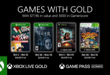 Photo of Xbox Games With Gold For October 2020