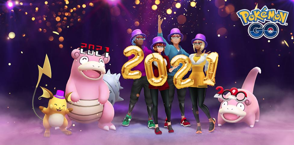 Pokemon Go New Year 2021 Event