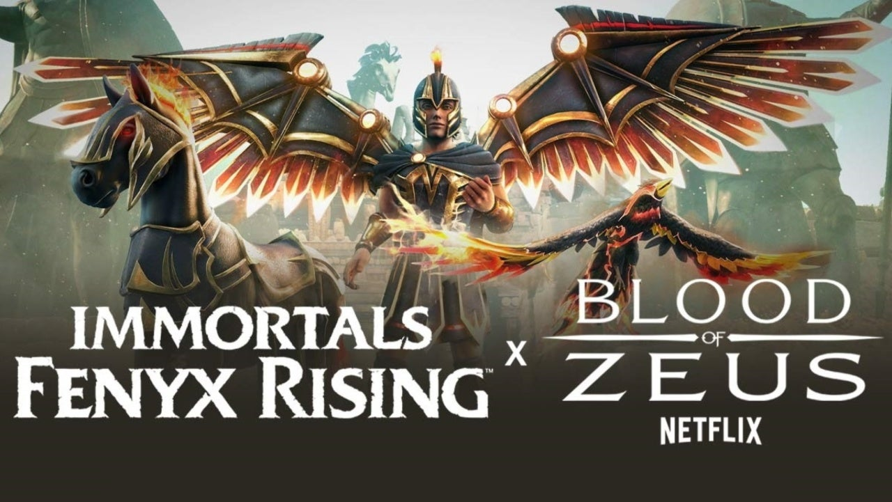 Immortals Fenyx Rising and Blood of Zeus make a crossover